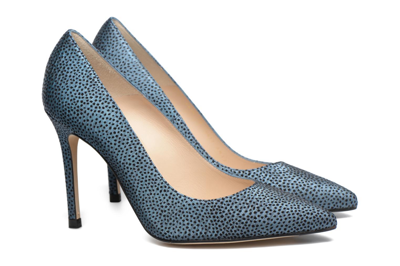 High heels L.K. Bennett Fern Blue 3/4 view