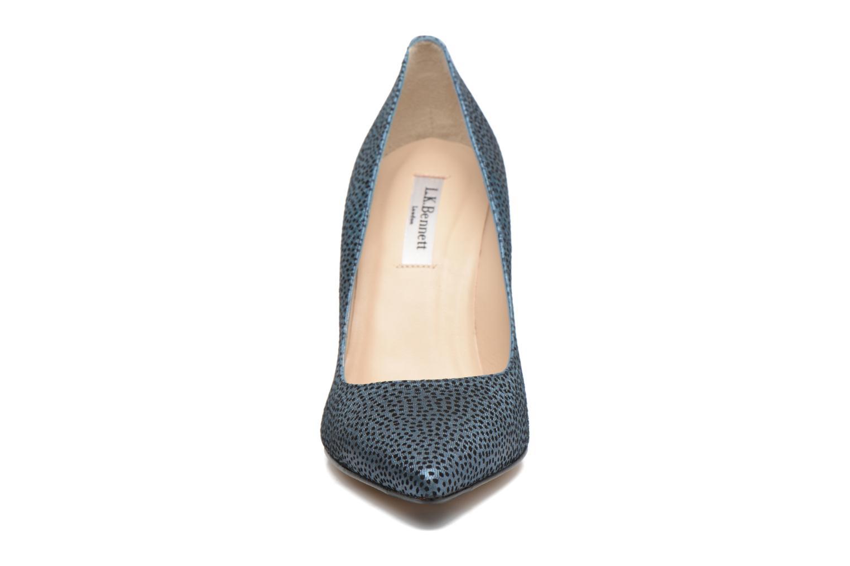 High heels L.K. Bennett Fern Blue model view