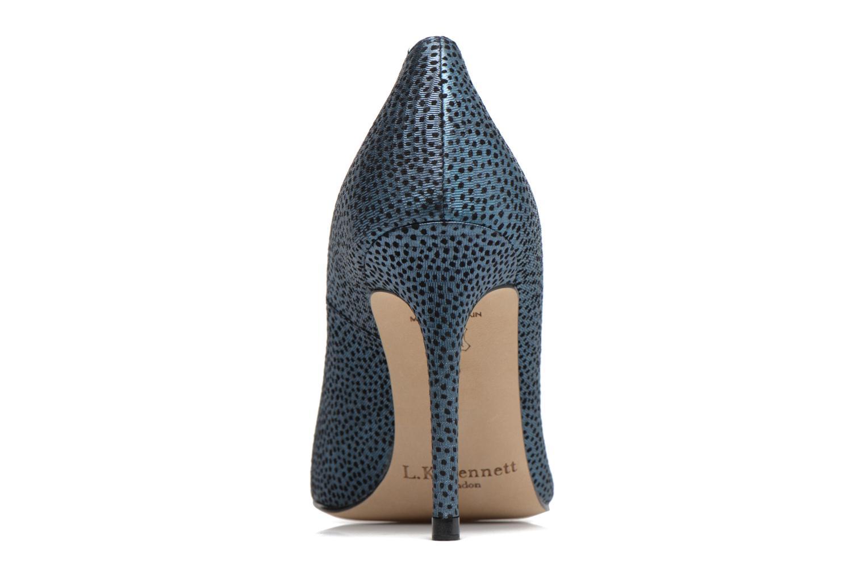 High heels L.K. Bennett Fern Blue view from the right
