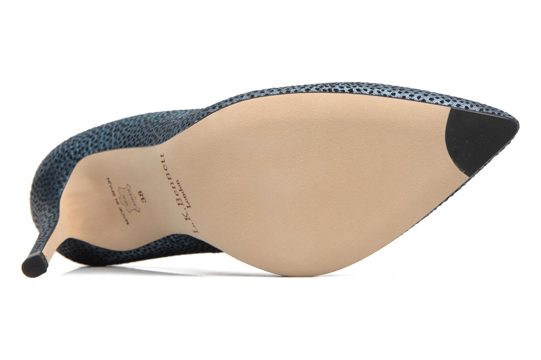 High heels L.K. Bennett Fern Blue view from above
