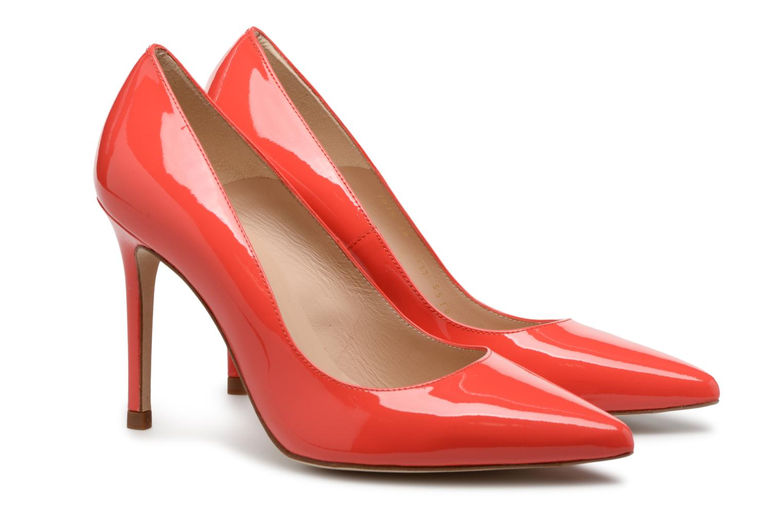 High heels L.K. Bennett Fern Orange 3/4 view