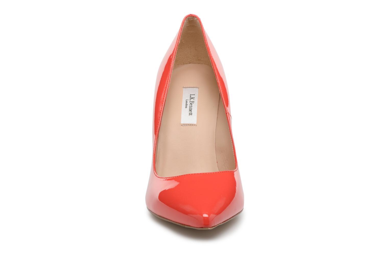 Escarpins L.K. Bennett Fern Orange vue portées chaussures