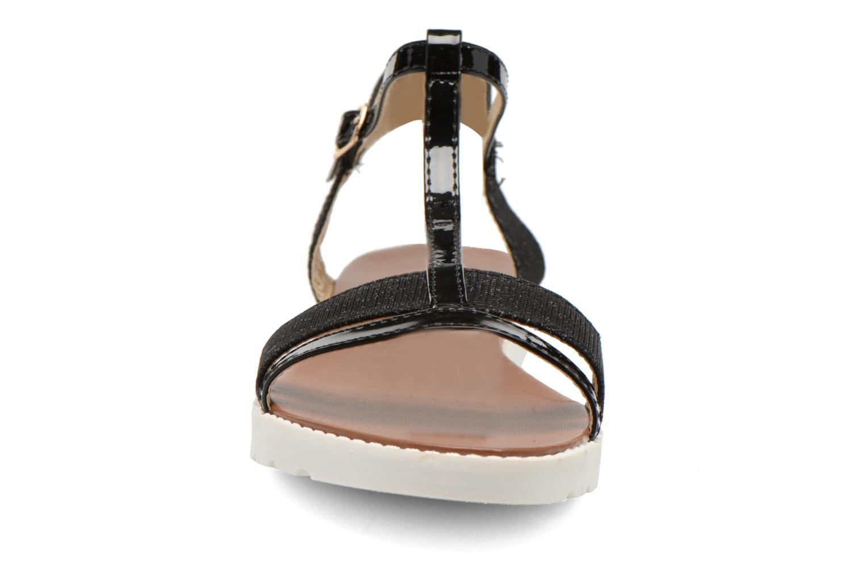 Sandales et nu-pieds Eclipse Sandale Athènes Noir vue portées chaussures