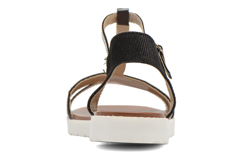 Sandales et nu-pieds Eclipse Sandale Athènes Noir vue droite
