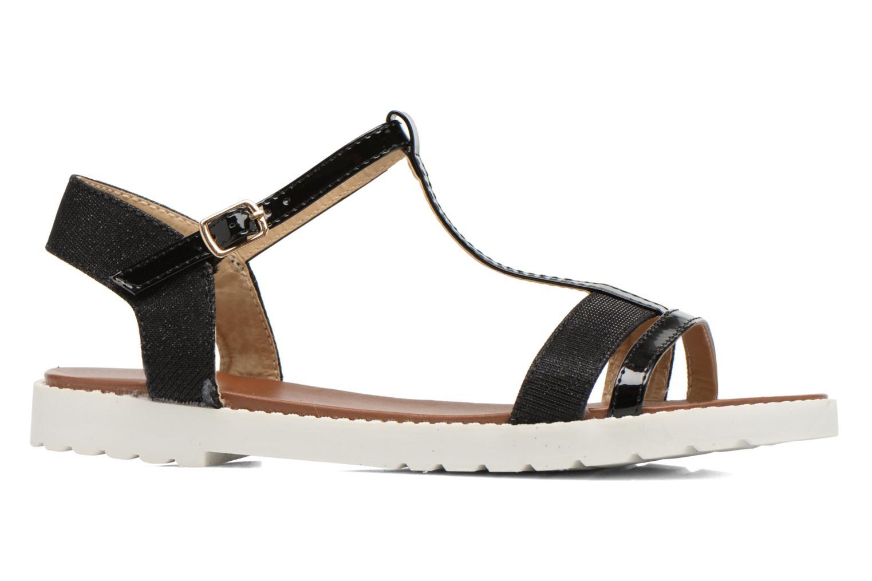 Sandales et nu-pieds Eclipse Sandale Athènes Noir vue derrière
