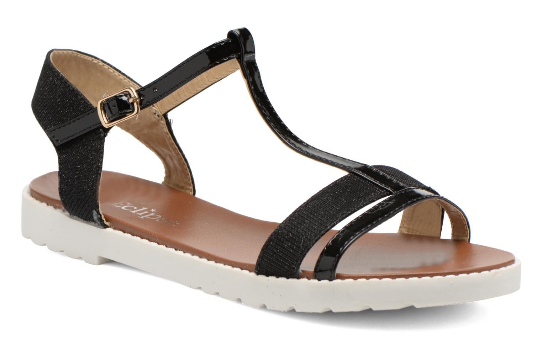 Sandales et nu-pieds Eclipse Sandale Athènes Noir vue détail/paire