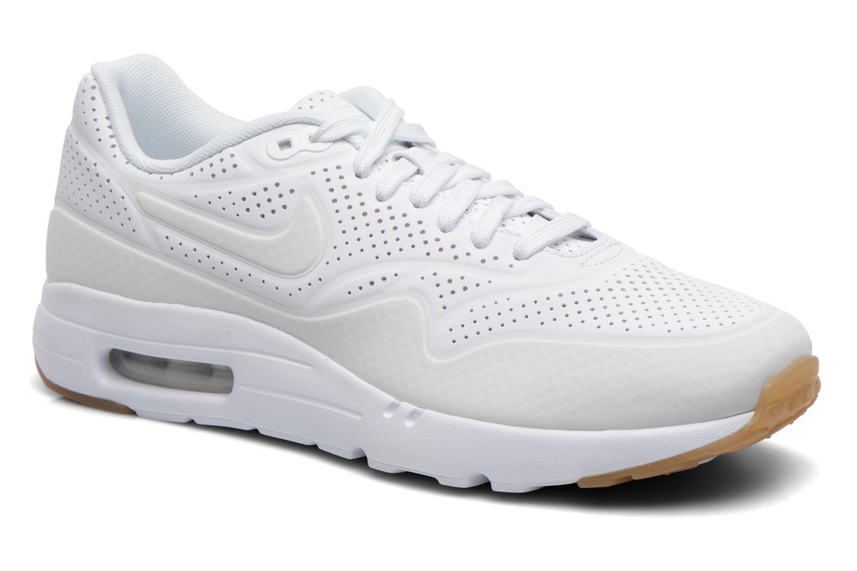 Baskets Nike Nike Air Max 1 Ultra Moire Blanc vue détail/paire
