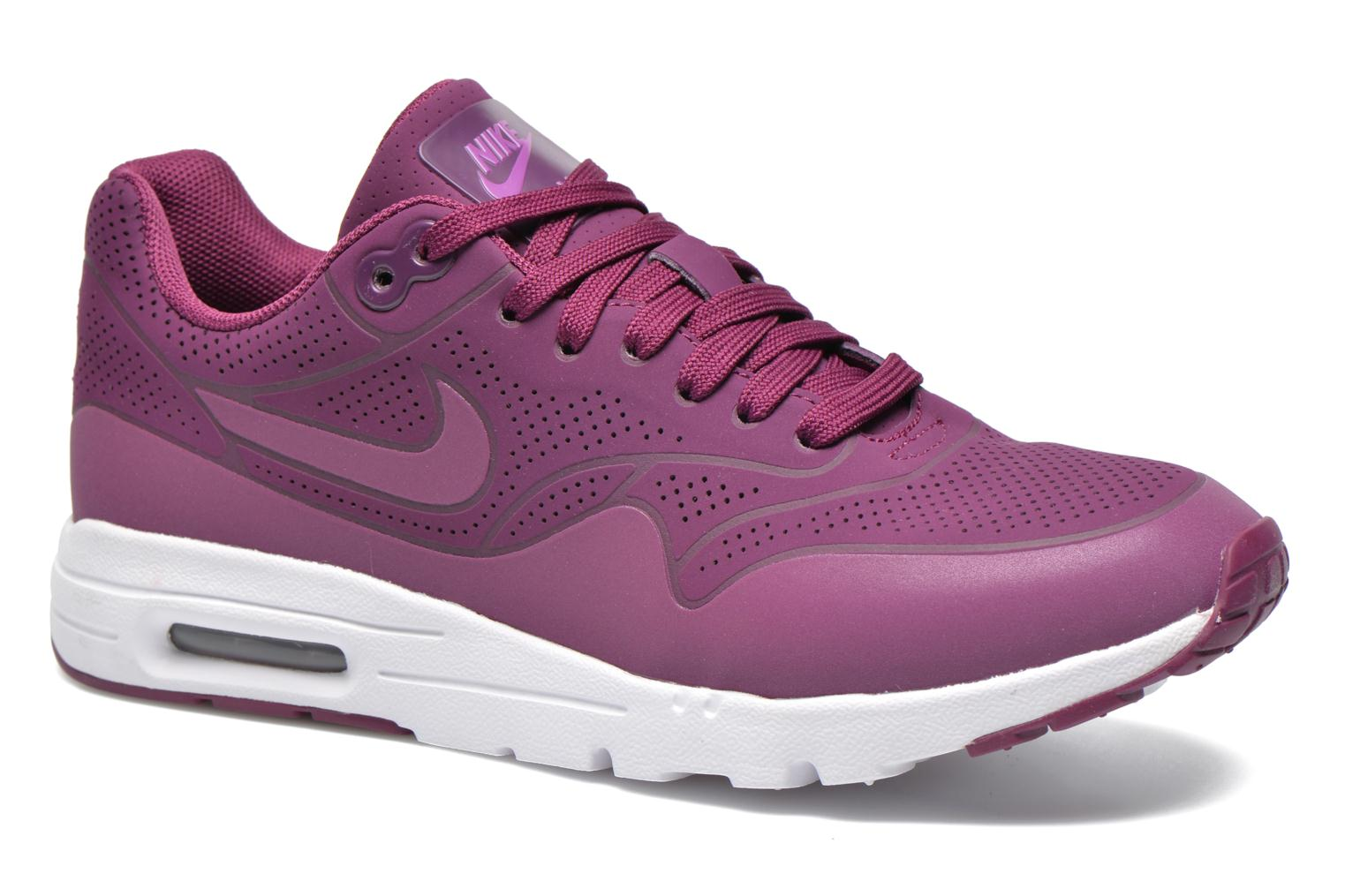 Bleached Lilac/Pnk Blast-White Nike Wmns Air Max 1 Ultra Moire (Rose)