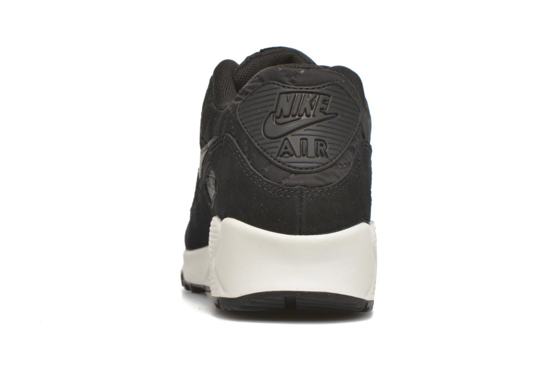 Baskets Nike Wmns Air Max 90 Prem Noir vue droite
