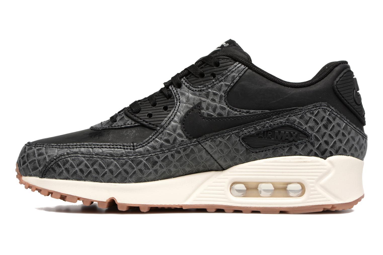 Sneakers Nike Wmns Air Max 90 Prem Zwart voorkant