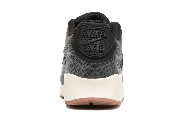 Sneakers Nike Wmns Air Max 90 Prem Zwart rechts