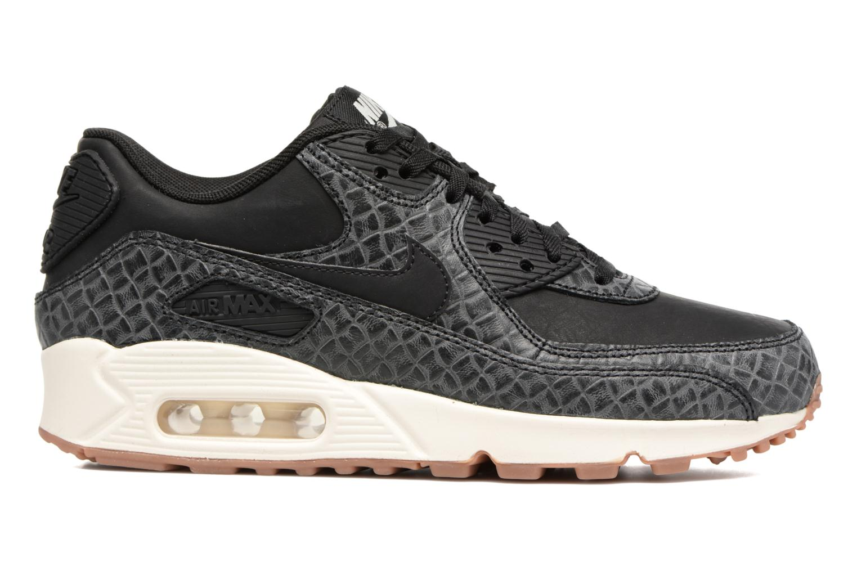 Sneakers Nike Wmns Air Max 90 Prem Zwart achterkant