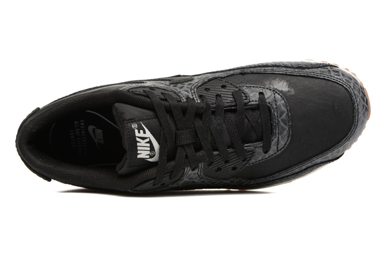 Wmns Air Max 90 Prem Black/black-sail-gum med brown
