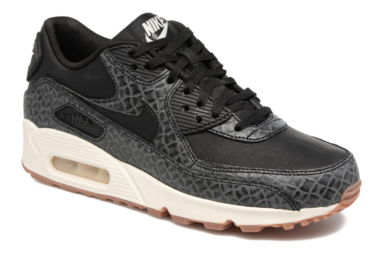 Sneakers Nike Wmns Air Max 90 Prem Zwart detail