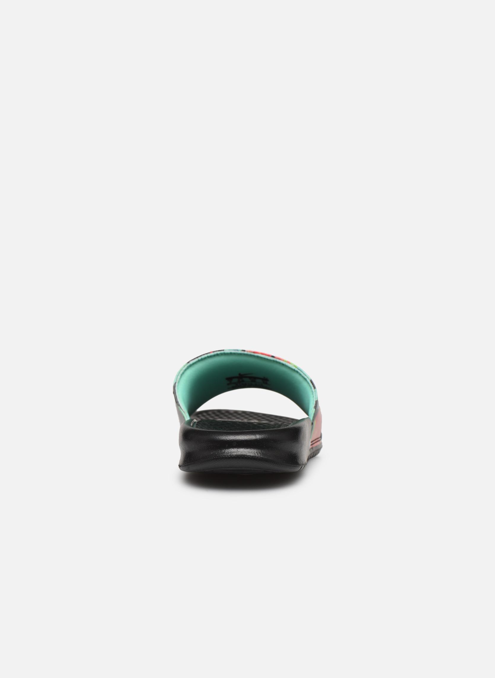 Wmns Benassi Jdi Print Black/Crimson Tint-Green Glow