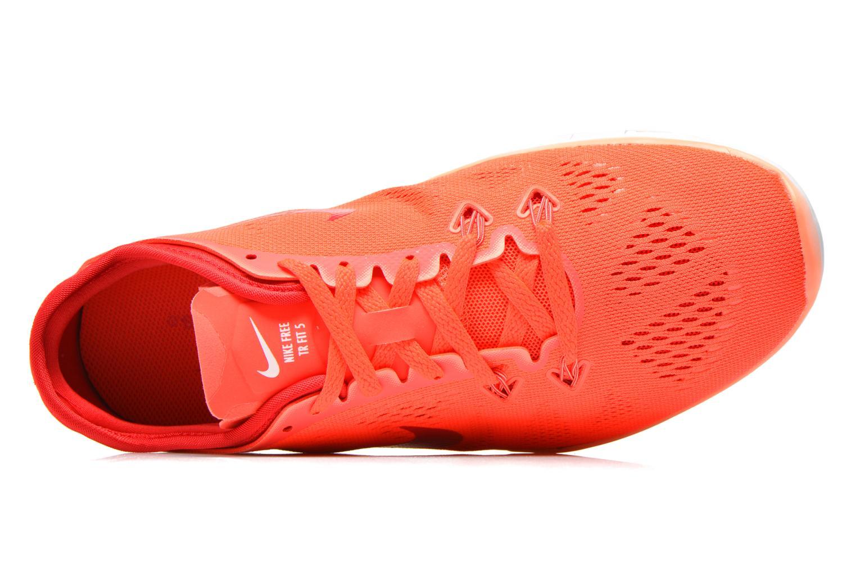 Chaussures de sport Nike Wmns Nike Free 5.0 Tr Fit 5 Orange vue gauche