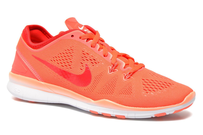 Chaussures de sport Nike Wmns Nike Free 5.0 Tr Fit 5 Orange vue détail/paire