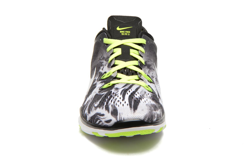 Sportschuhe Nike Wmns Nike Free 5.0 Tr Fit 5 Prt schwarz schuhe getragen