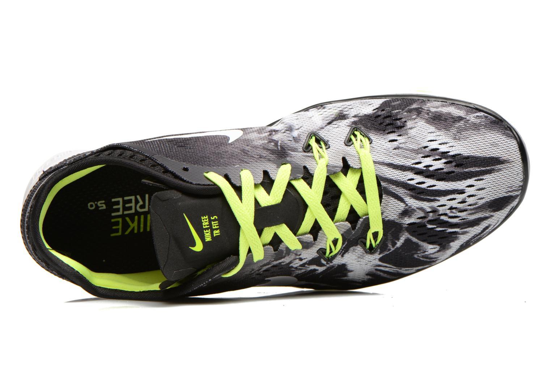 Sportschuhe Nike Wmns Nike Free 5.0 Tr Fit 5 Prt schwarz ansicht von links