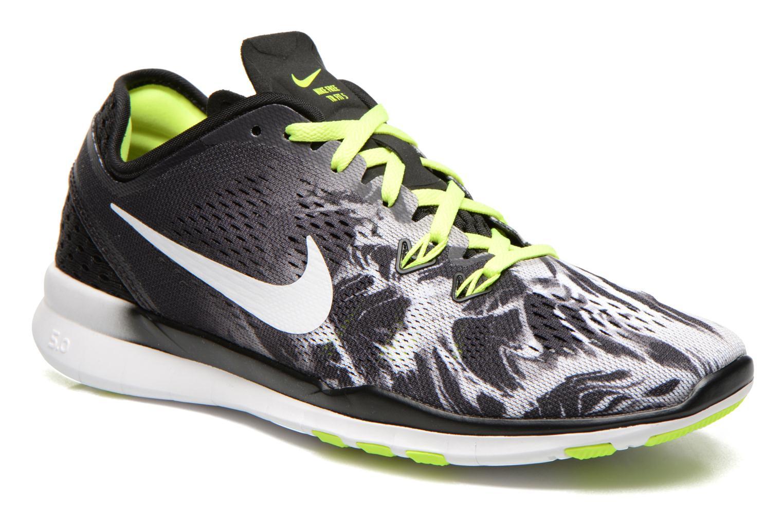 Wmns Nike Free 5.0 Tr Fit 5 Prt Black/white-volt