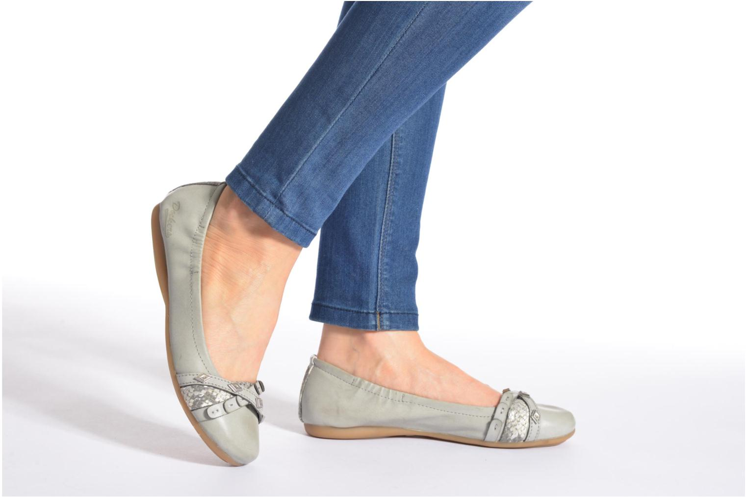 Ballet pumps Dockers Tran Grey view from underneath / model view