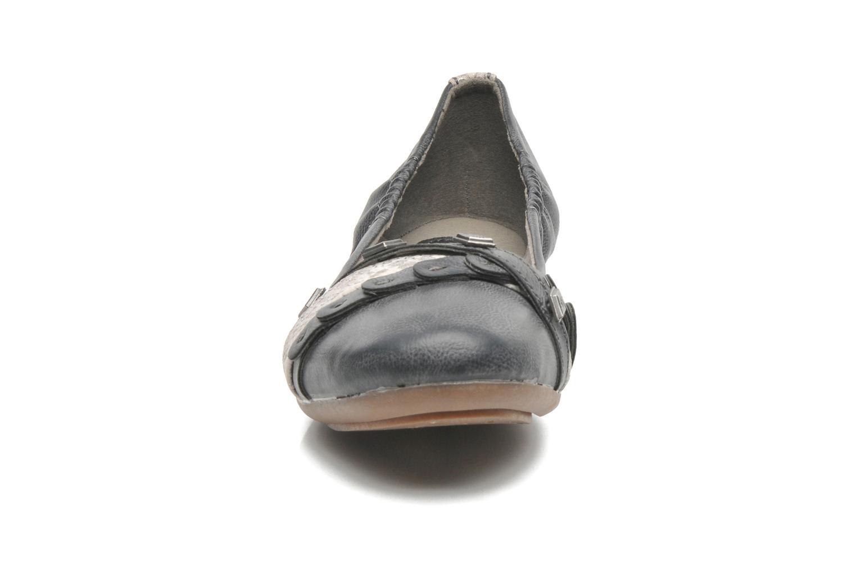 Ballerines Dockers Tran Gris vue portées chaussures