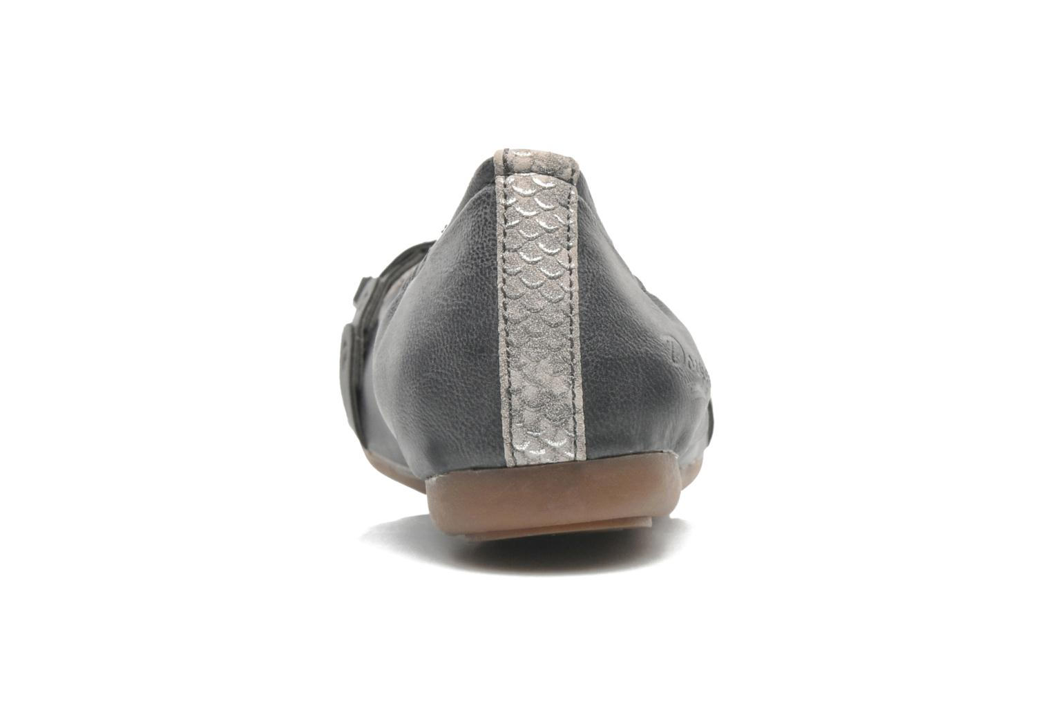 Ballet pumps Dockers Tran Grey view from the right