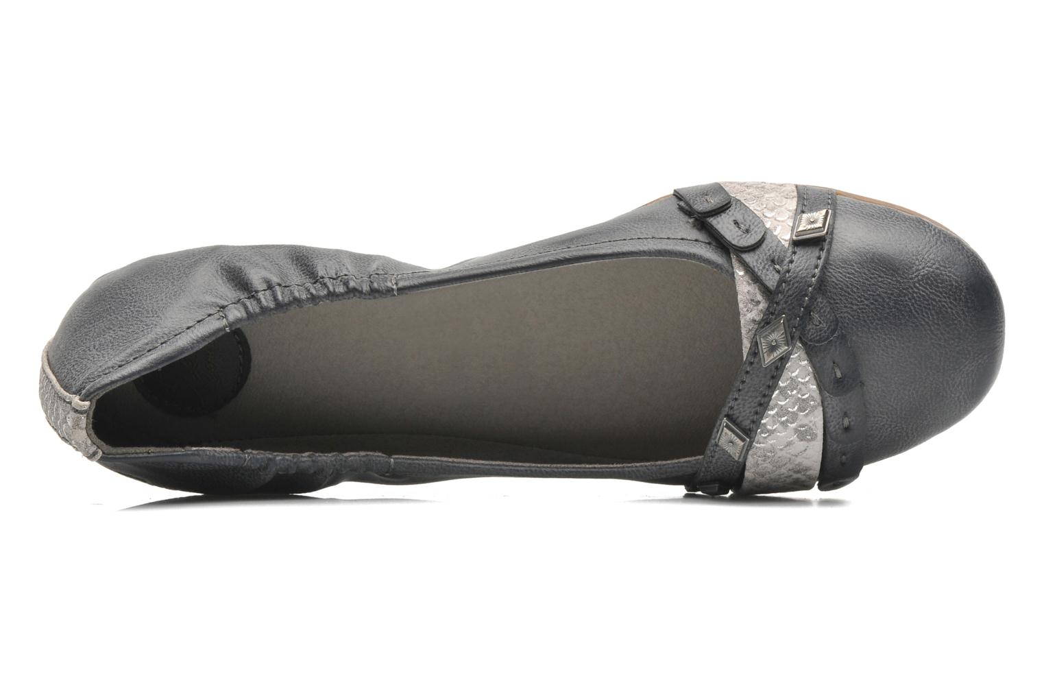 Ballet pumps Dockers Tran Grey view from the left