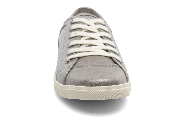 Baskets Dockers Maria Argent vue portées chaussures