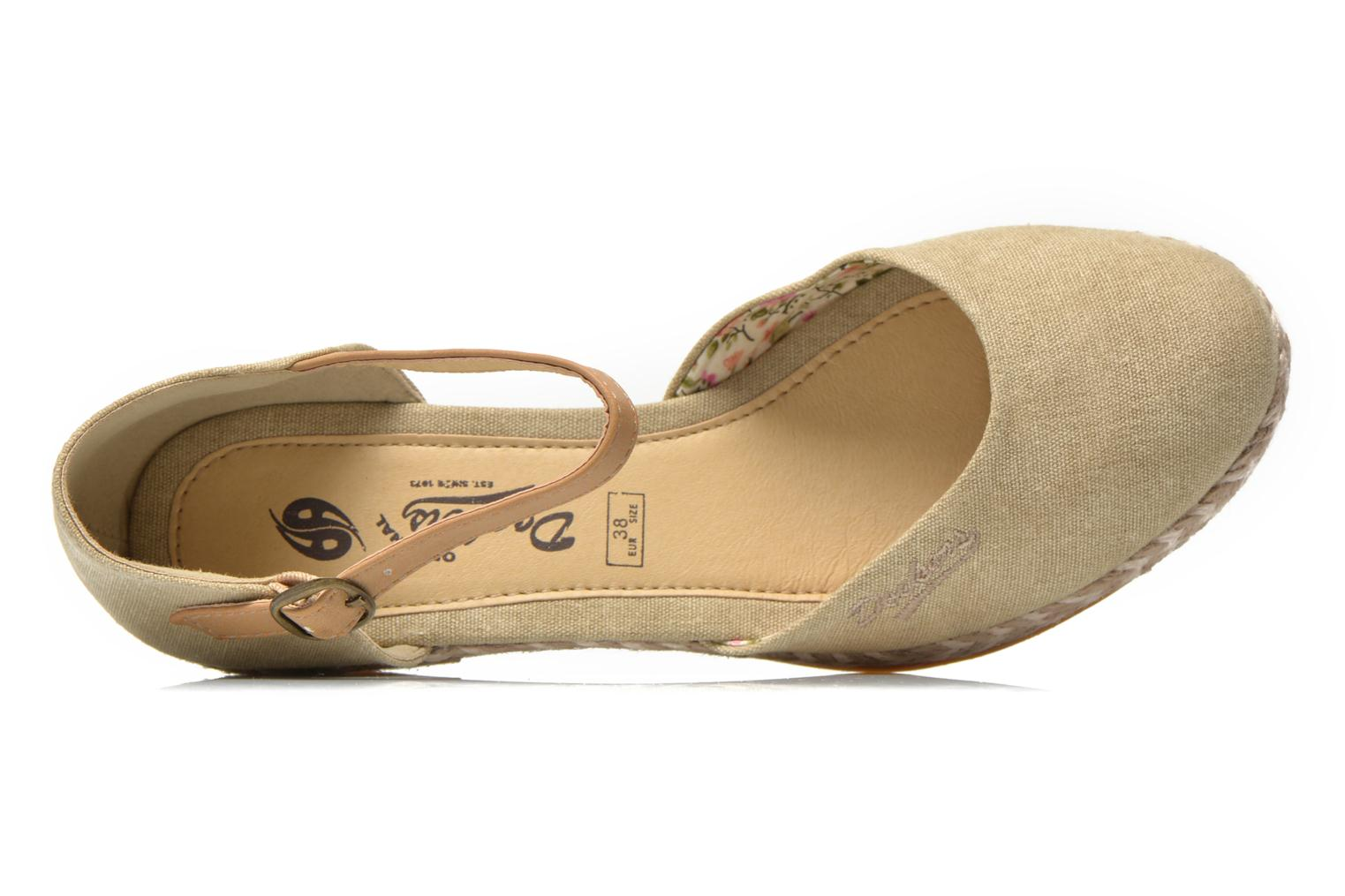 Sandals Dockers Valet Beige view from the left