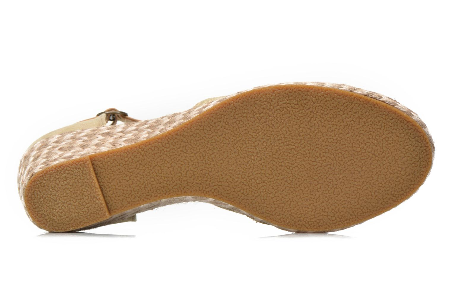 Sandals Dockers Valet Beige view from above