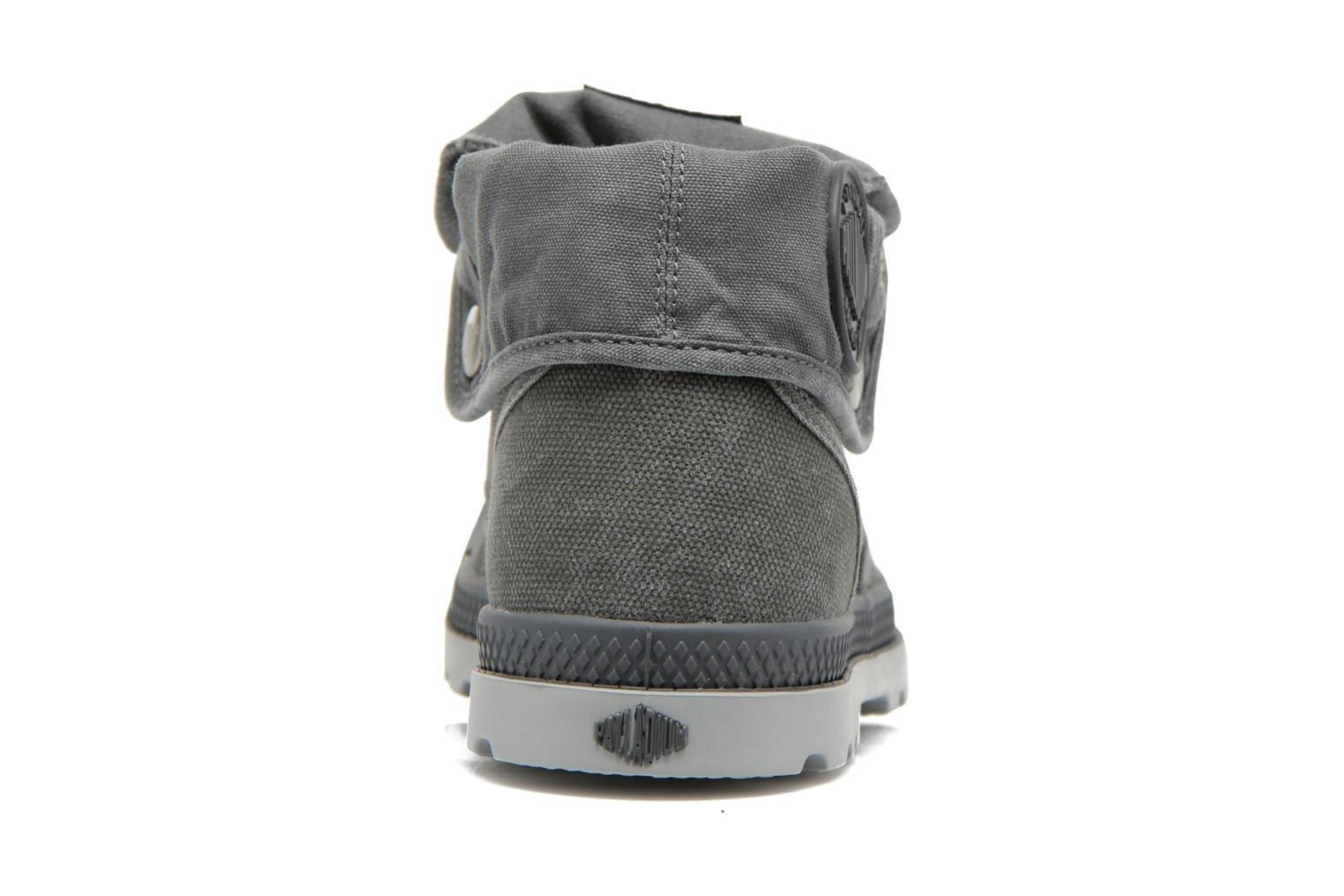 Trainers Palladium Baggy Low Lp F Grey view from the right