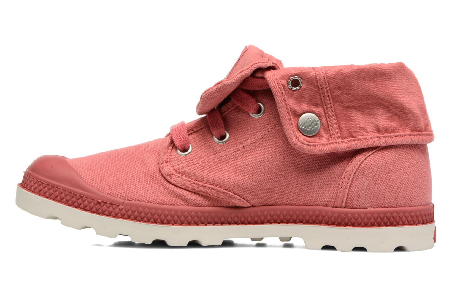 Trainers Palladium Baggy Low Lp F Pink front view