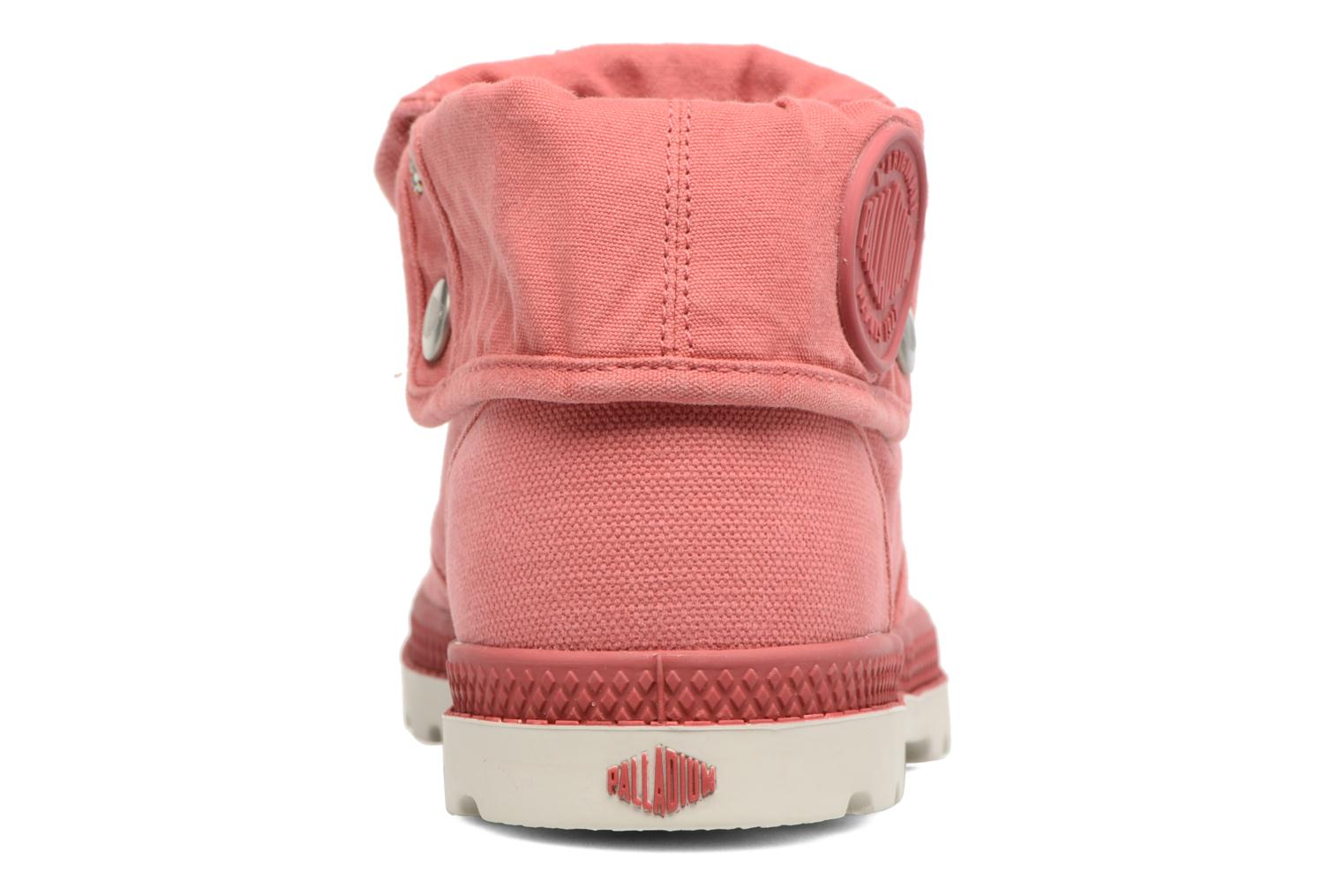 Trainers Palladium Baggy Low Lp F Pink view from the right