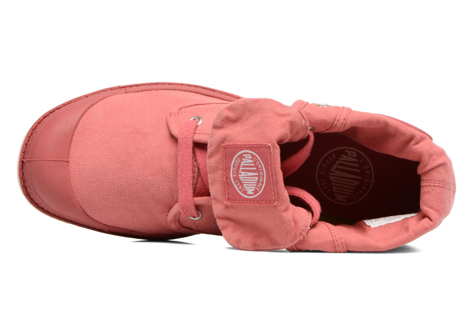 Trainers Palladium Baggy Low Lp F Pink view from the left