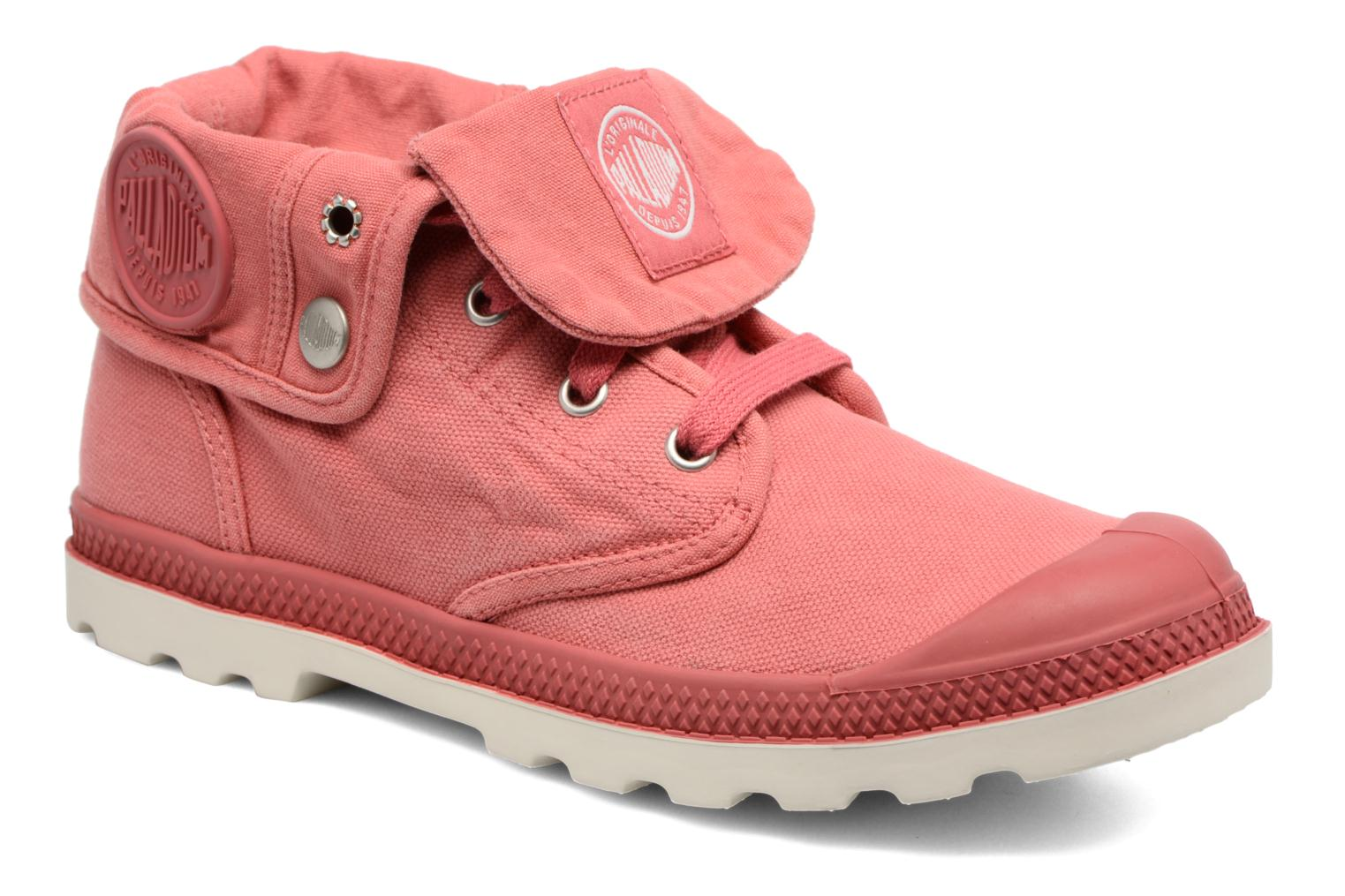 Trainers Palladium Baggy Low Lp F Pink detailed view/ Pair view