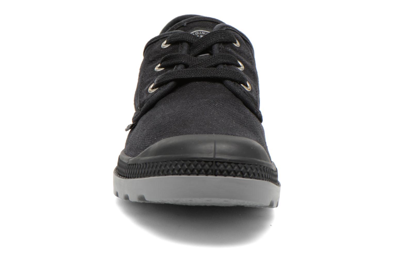 Sneaker Palladium Us Oxford Lp F schwarz schuhe getragen