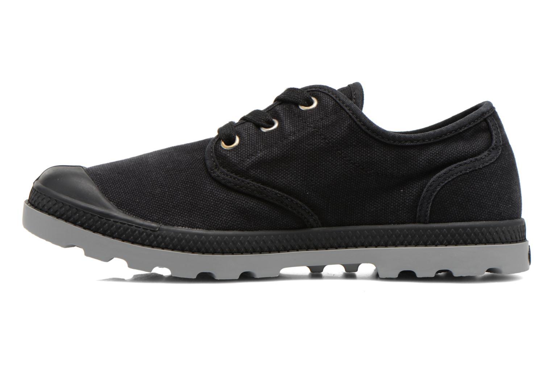 Sneakers Palladium Us Oxford Lp F Zwart voorkant