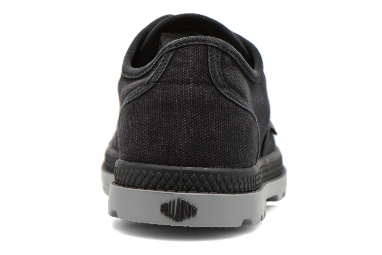 Sneaker Palladium Us Oxford Lp F schwarz ansicht von rechts