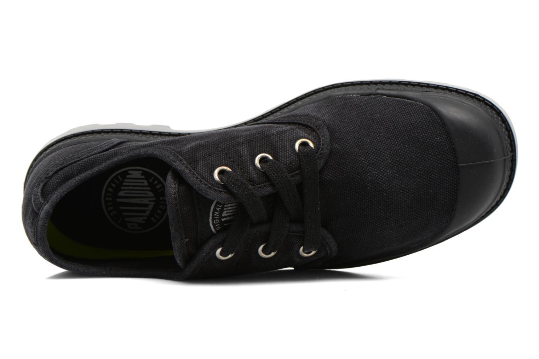 Sneaker Palladium Us Oxford Lp F schwarz ansicht von links