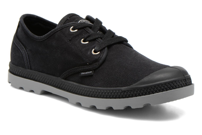 Sneakers Palladium Us Oxford Lp F Zwart detail