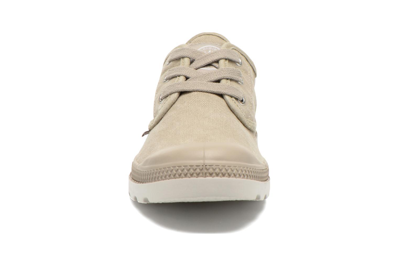 Sneaker Palladium Us Oxford Lp F beige schuhe getragen