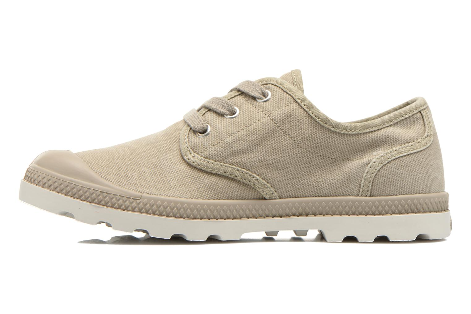 Sneakers Palladium Us Oxford Lp F Beige voorkant