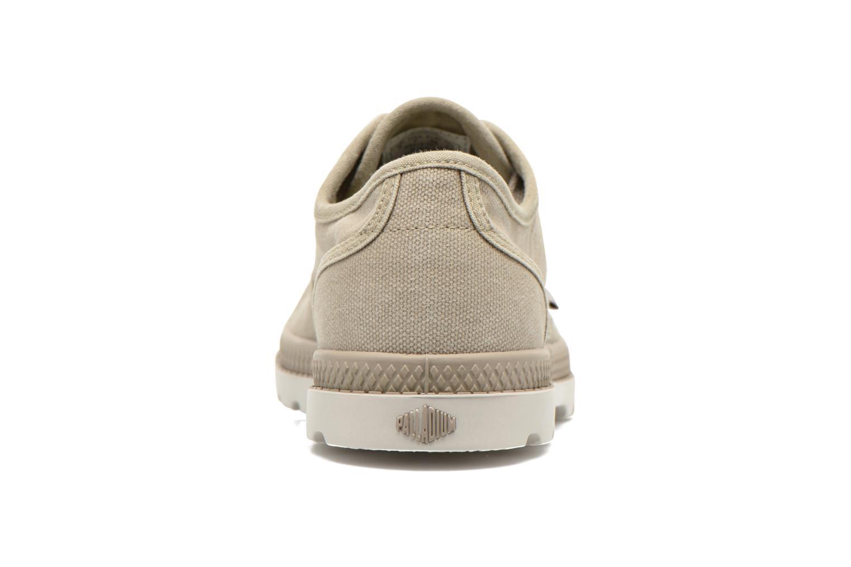 Sneakers Palladium Us Oxford Lp F Beige rechts