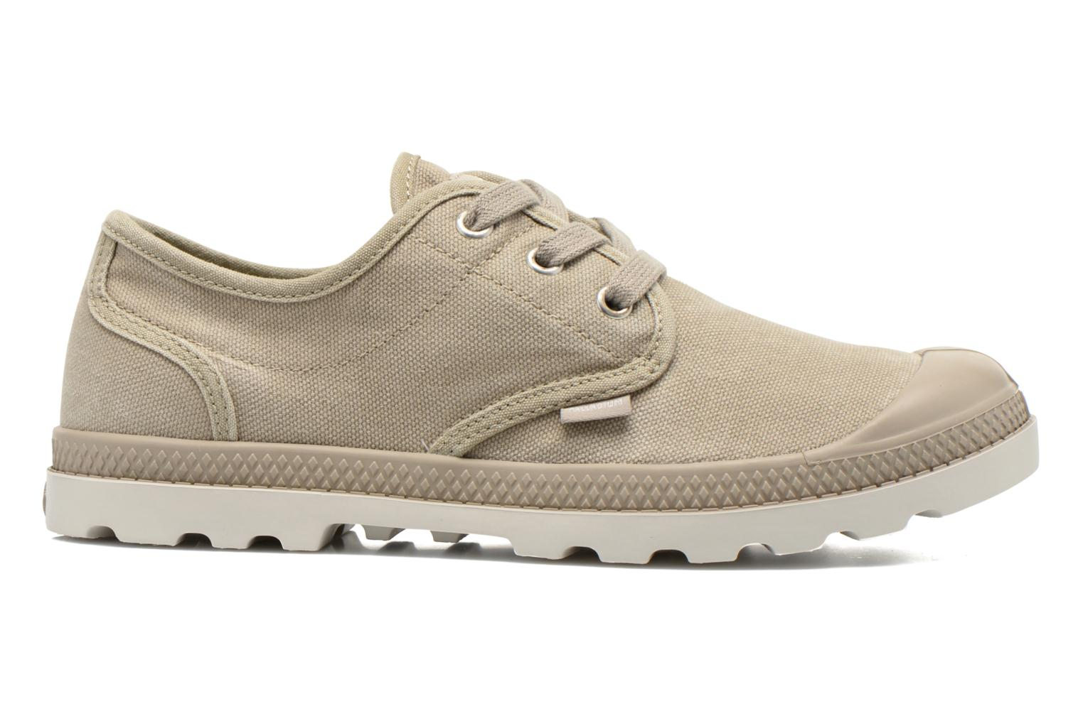Sneakers Palladium Us Oxford Lp F Beige achterkant