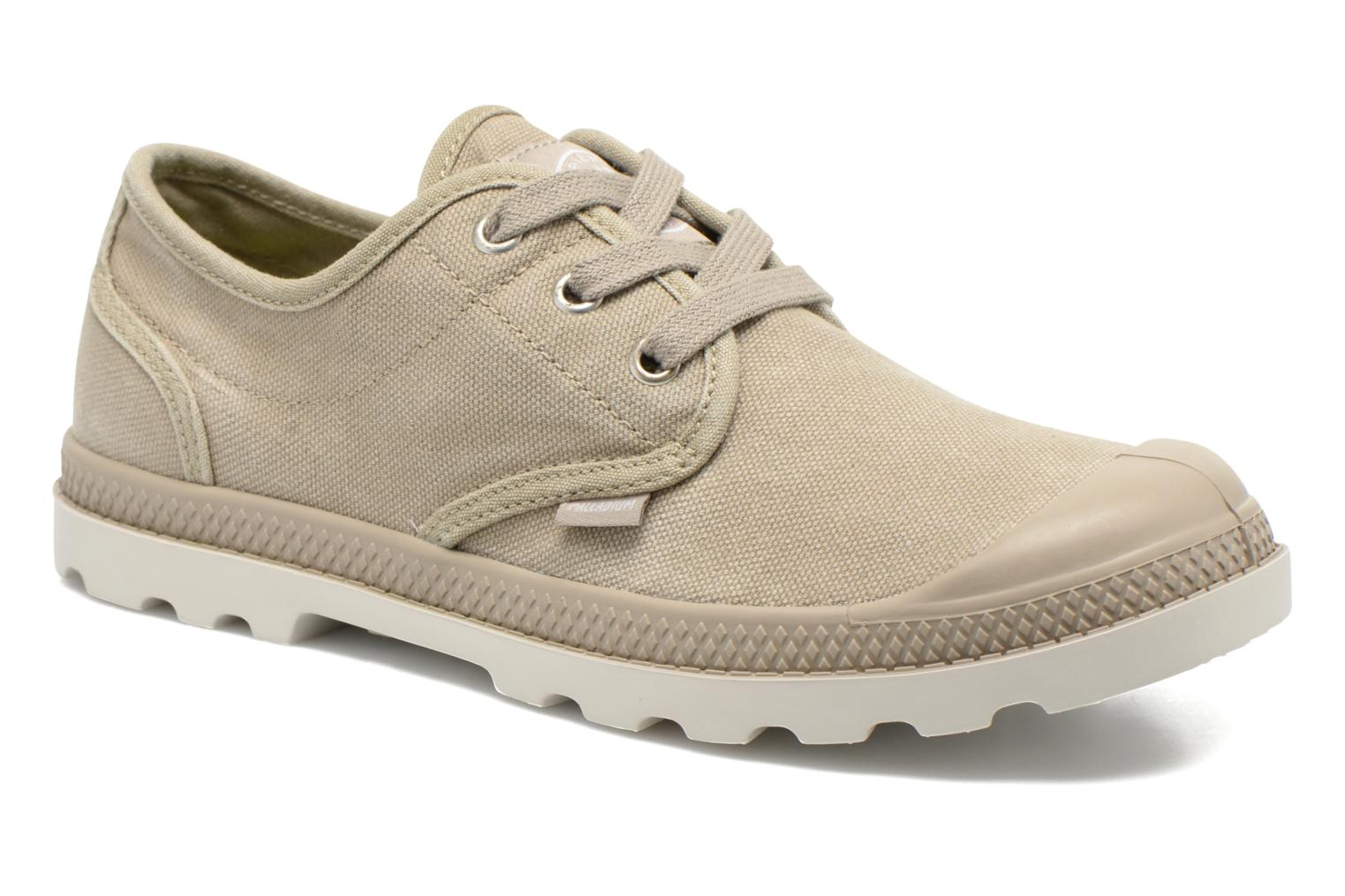 Sneakers Palladium Us Oxford Lp F Beige detaljerad bild på paret