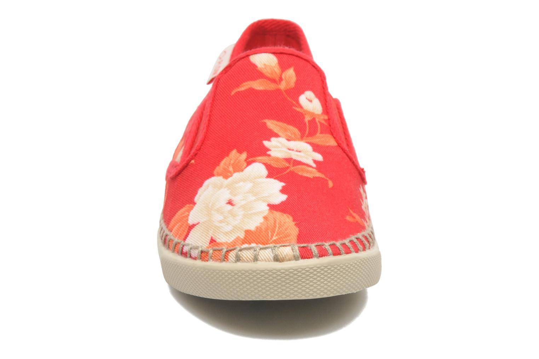 Baskets P-L-D-M By Palladium Bora Big Flower Rouge vue portées chaussures