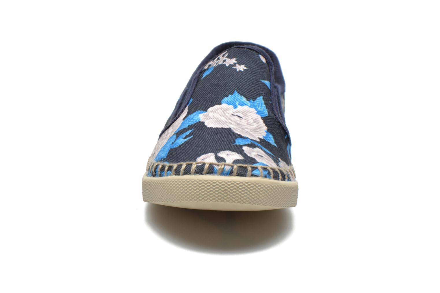 Trainers P-L-D-M By Palladium Bora Big Flower Blue model view