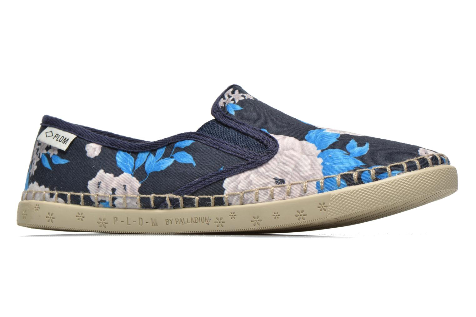 Trainers P-L-D-M By Palladium Bora Big Flower Blue back view