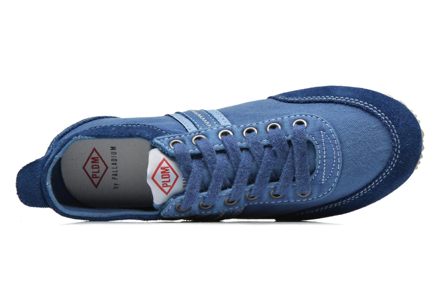 Trainers P-L-D-M By Palladium Rockville Blue view from the left